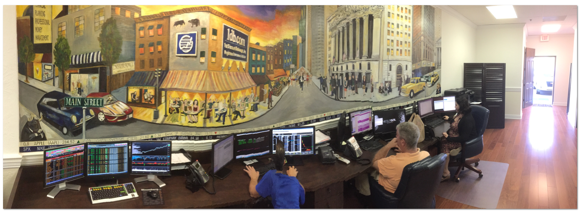 1db Trading Desk Ringing The Opening Bell